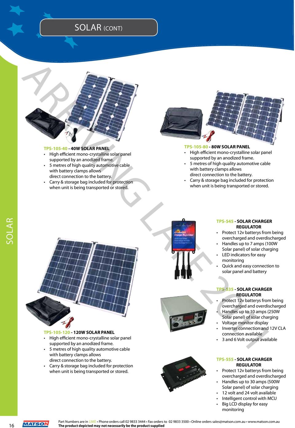 2012 V10 The Professionals Choice Pdf Solar Battery Charger With Overcharge Protection Electronic Tps 105 80 80w Panel High Efficient Mono Crystalline