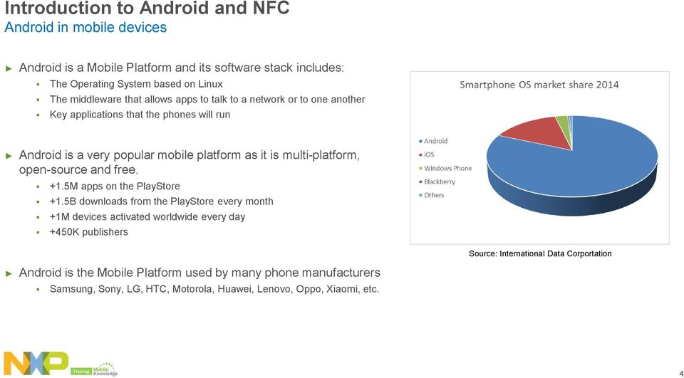 Training  NFC in Android  Public  MobileKnowledge October PDF