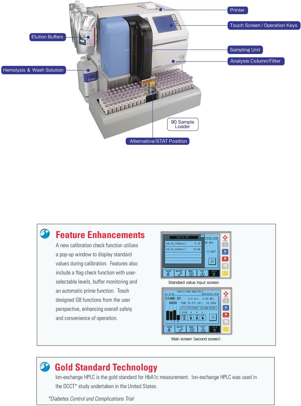 Tosoh aia 360 immunology analyzer diamond diagnostics.