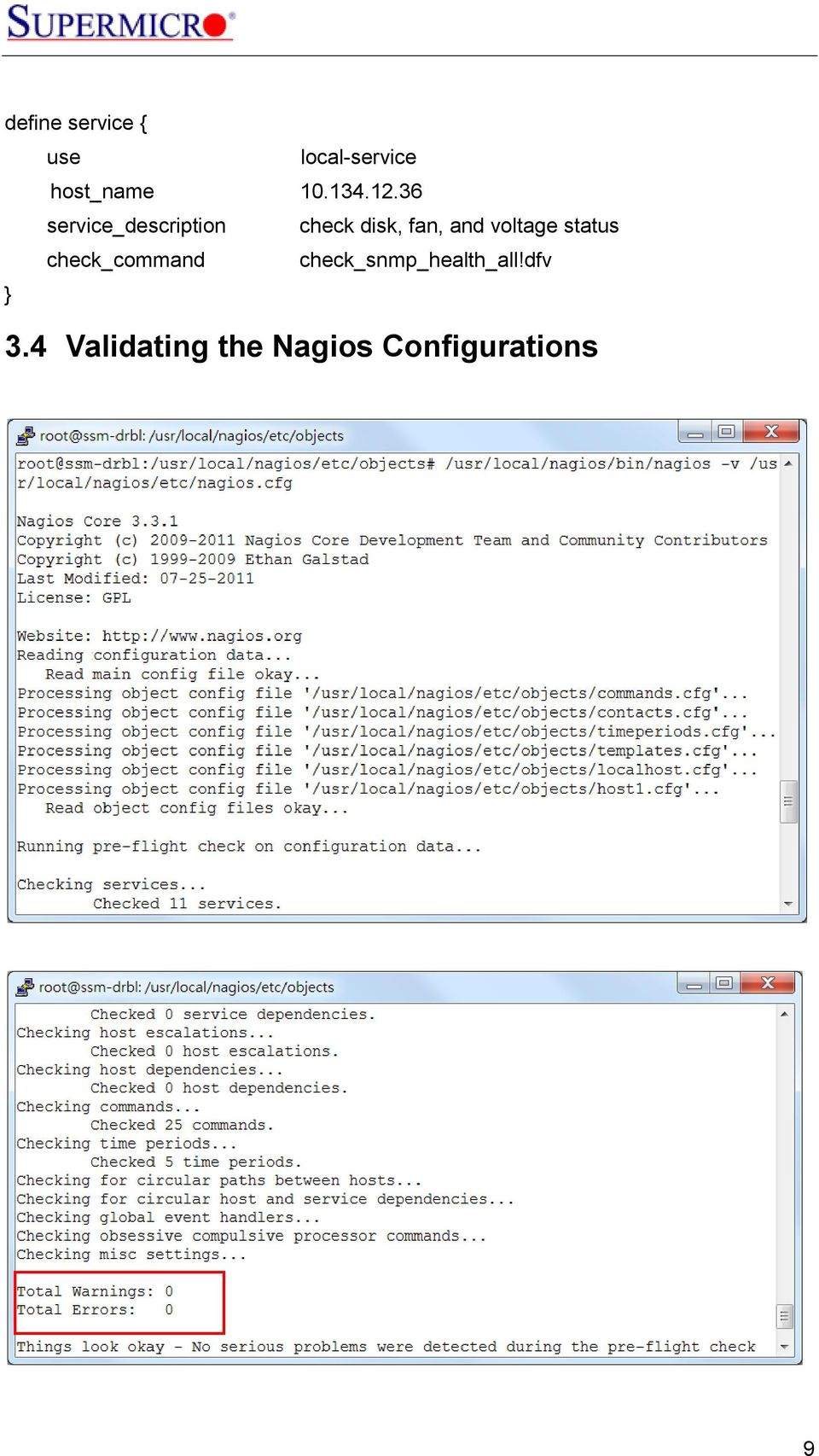 Supermicro Server Monitoring With Superdoctor 5 And Nagios Using When The Fan On Setting Is Selected Contacts Between R 36 Service Description Check Disk