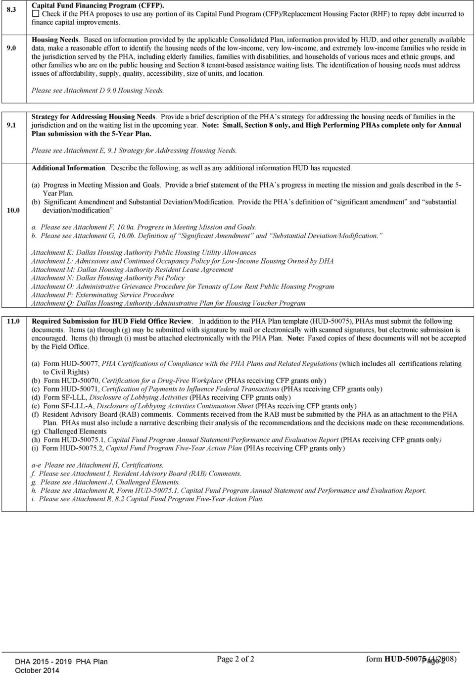 dallas housing authority five year pha plan 2015 pha plan and five rh docplayer net