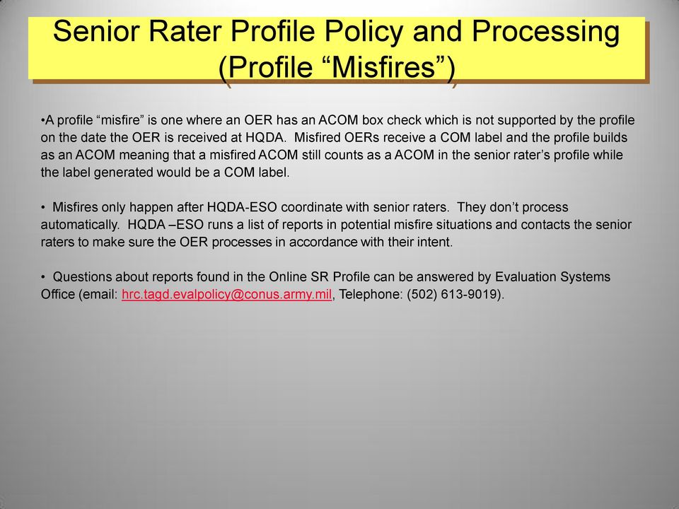 Military Evaluation Oer Amp Ncoer Rater And Senior Rater
