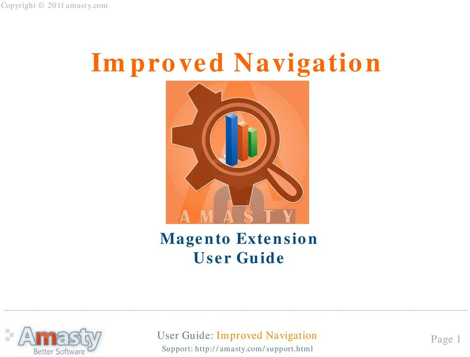 improved navigation magento extension user guide pdf rh docplayer net Clip Art User Guide User Guide Cover
