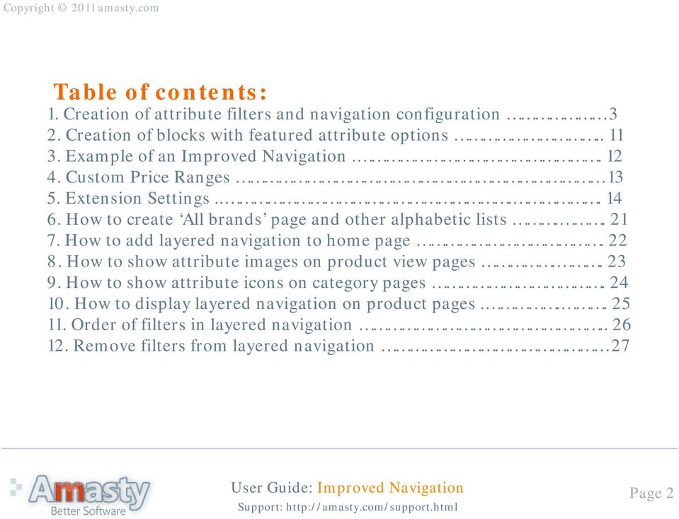 improved navigation magento extension user guide pdf rh docplayer net Clip Art User Guide Kindle Fire User Guide