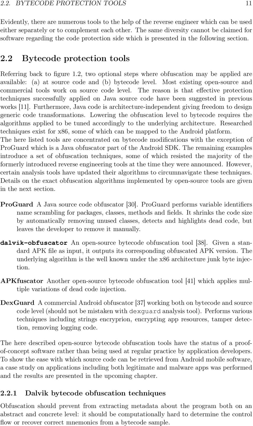 Efficient Code Obfuscation for Android - PDF