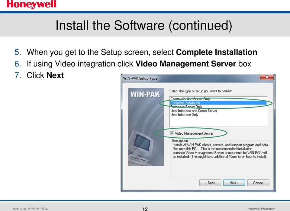 win-pak pro central station software