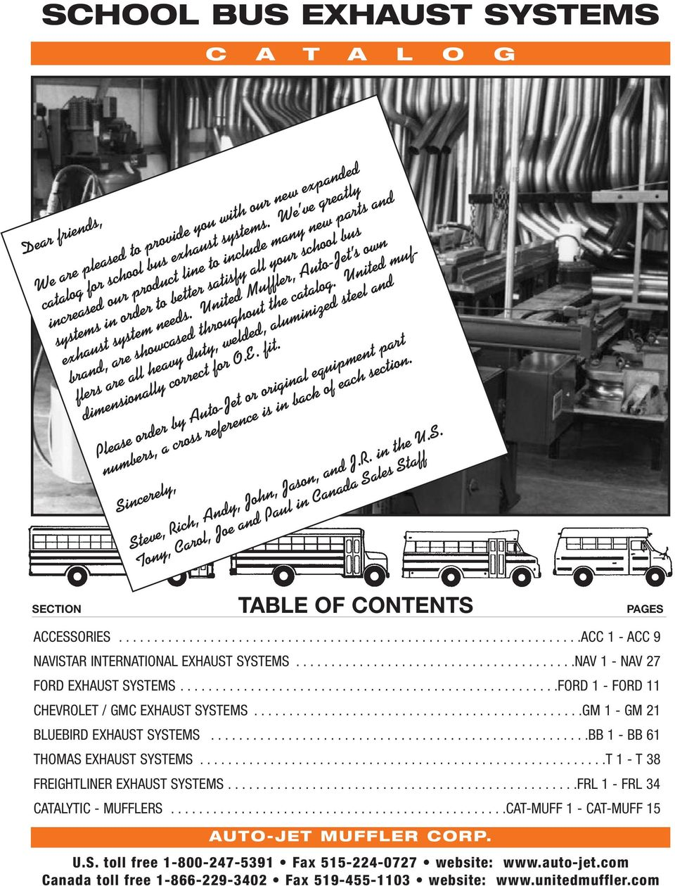 SCHOOL BUS EXHAUST SYSTEMS Volume 10 - PDF