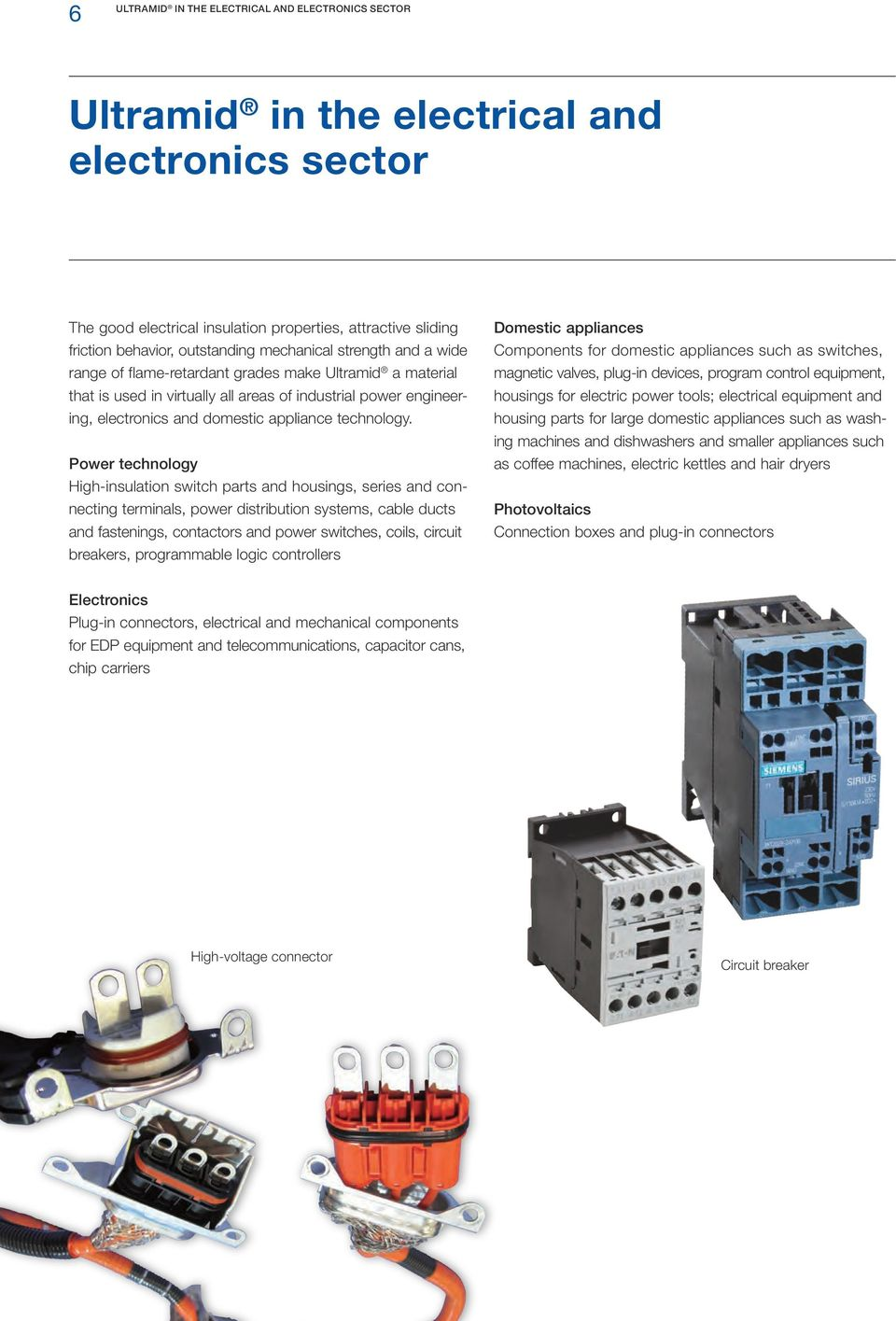 Ultramid Pa Product Brochure In The Web Pdf Wiring Diagram For A Hair Dryer Technology
