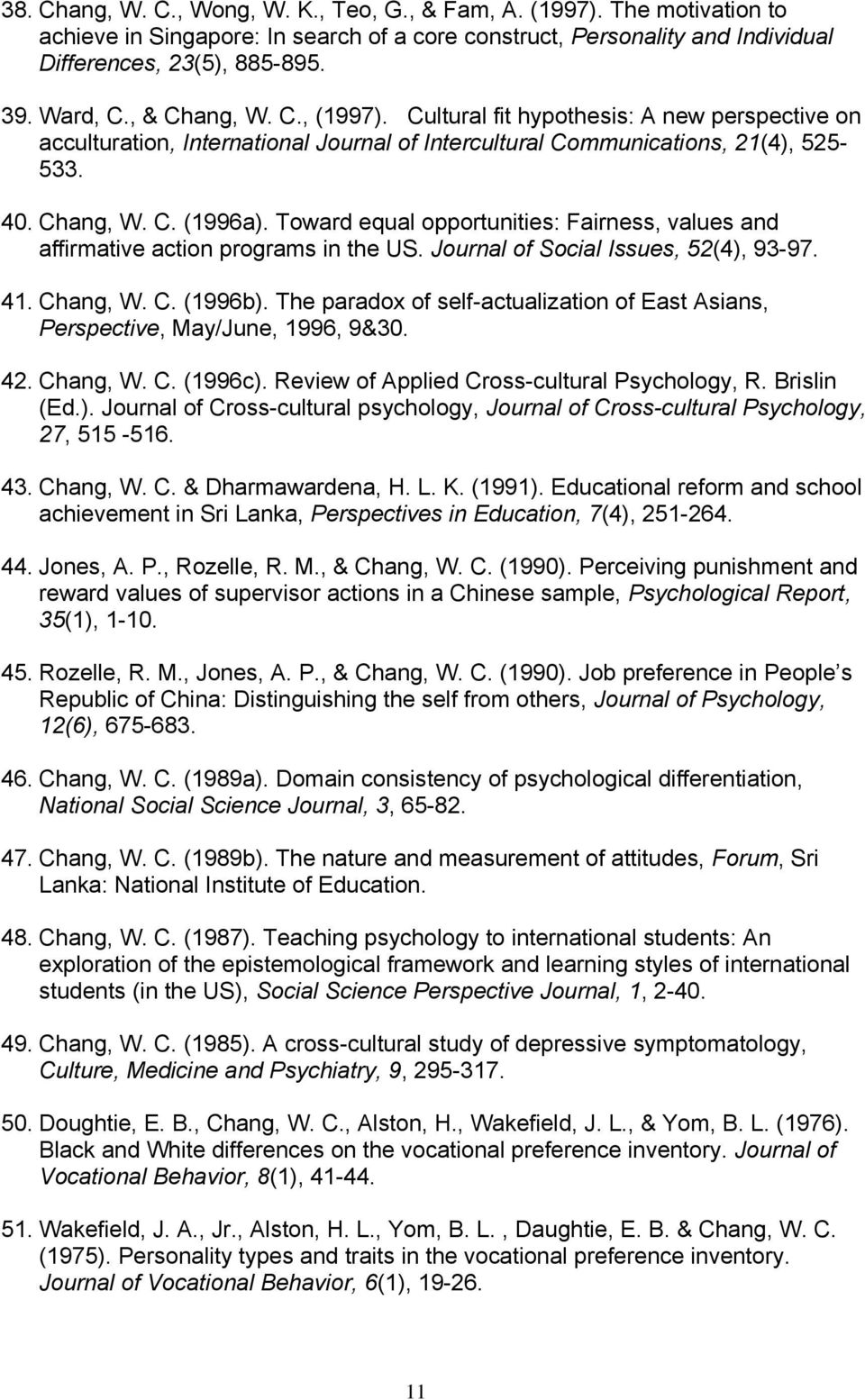 applied cross cultural psychology