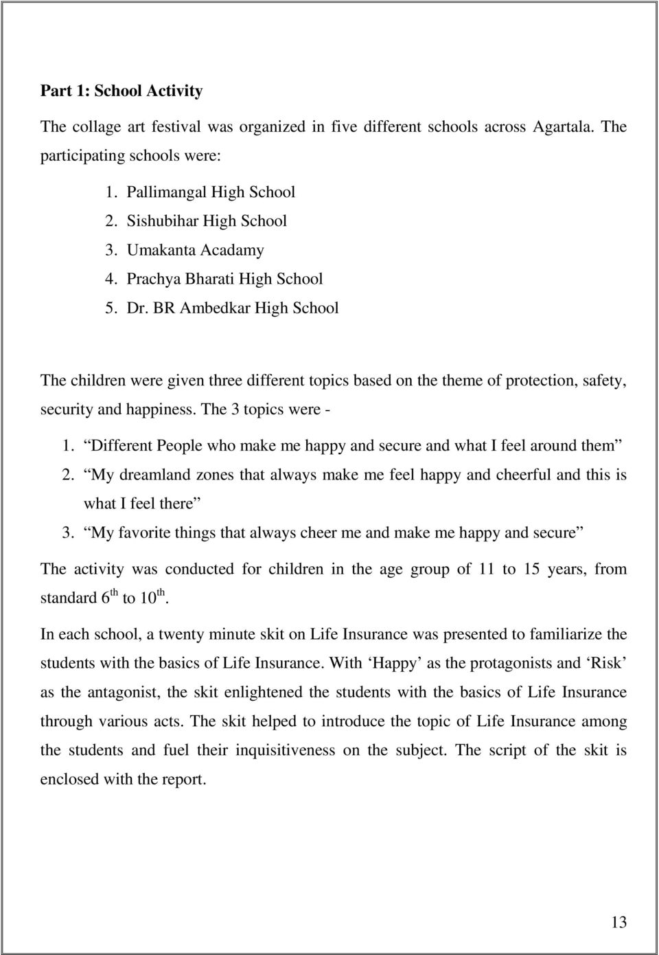 essay about theatres natural disaster upsr