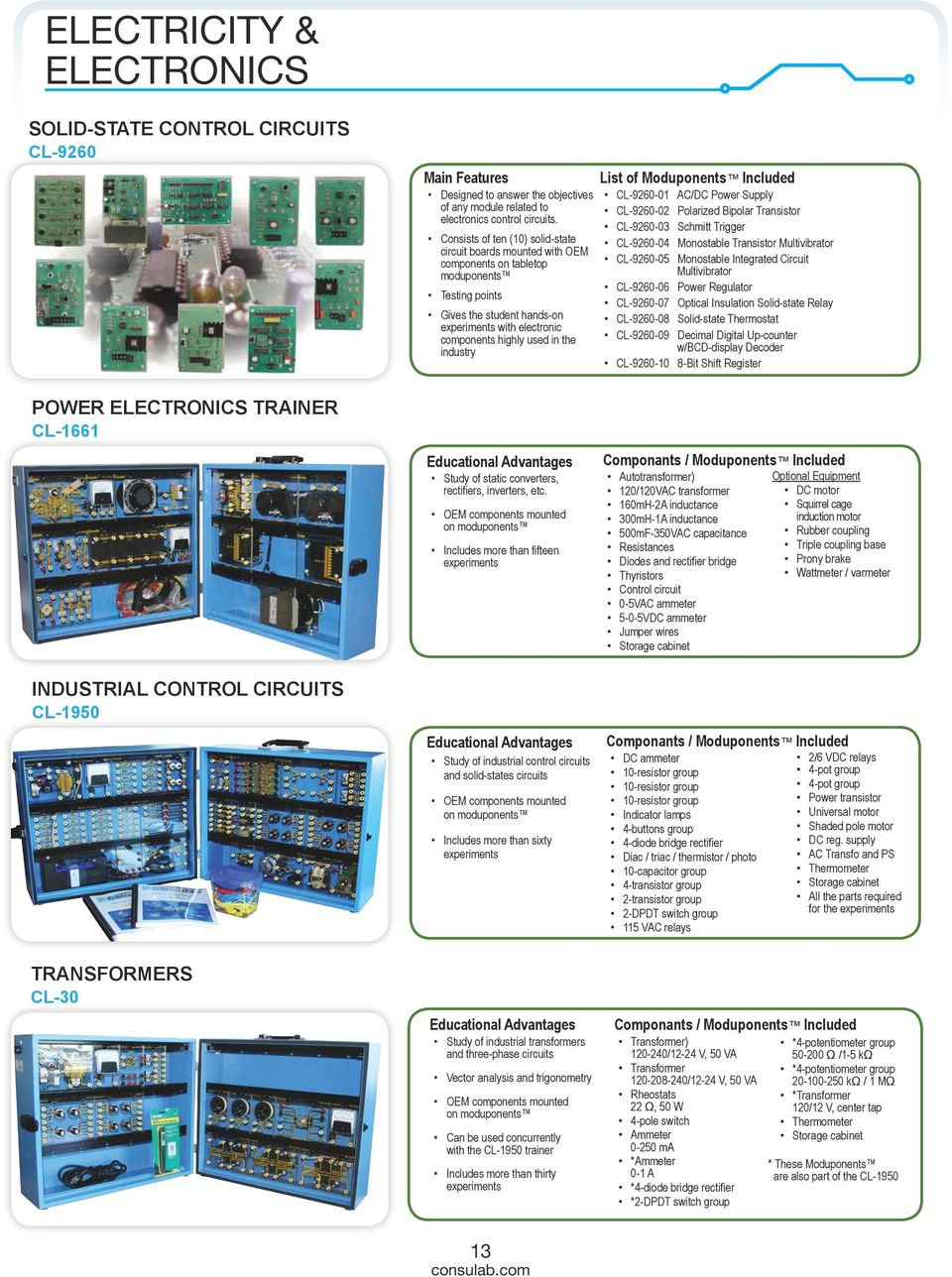 Catalog Electrical Engineering Technology Pdf 3 Phase Static Converter Wiring Diagram Industry List Of Moduponents Included Cl 9260 01 Ac Dc Power Supply