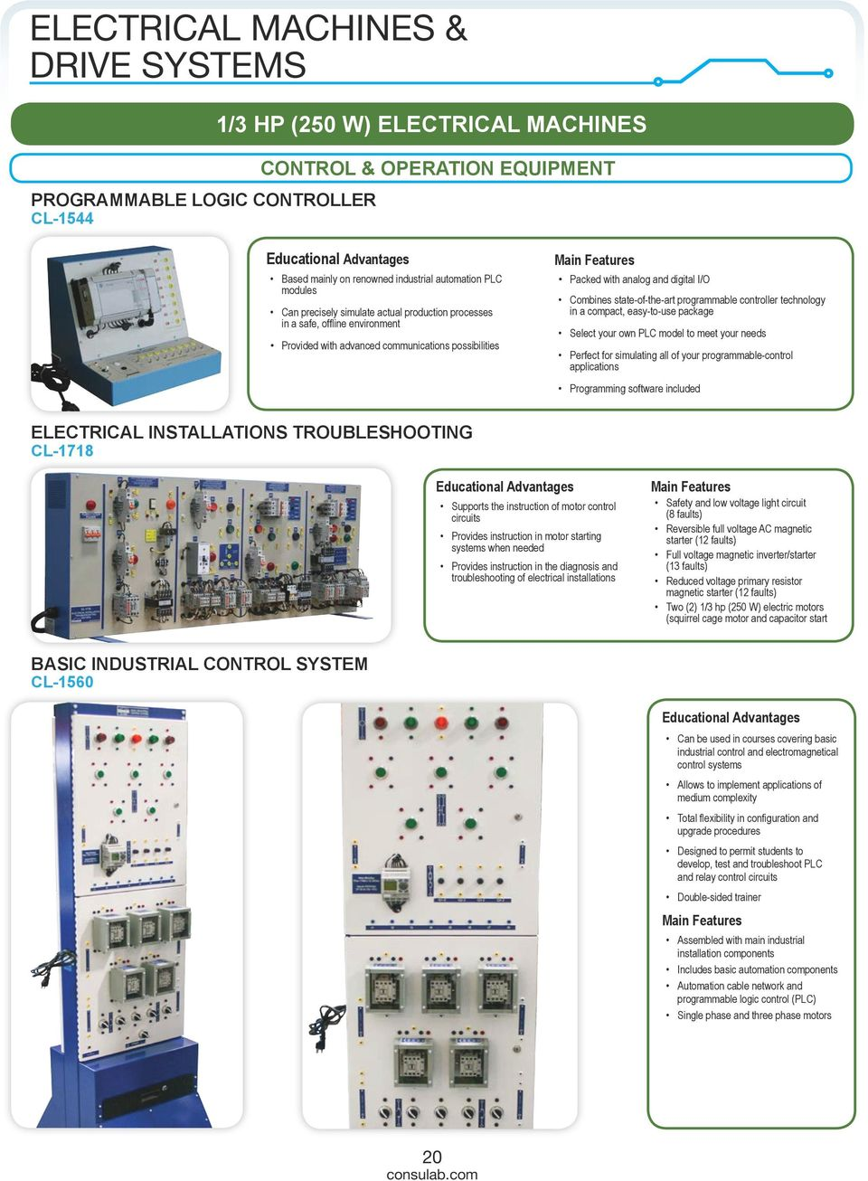 Catalog Electrical Engineering Technology Pdf Troubleshooting The Basic Control Circuits System State Of Art Programmable Controller In A Compact Easy 21 Machines Drive Systems