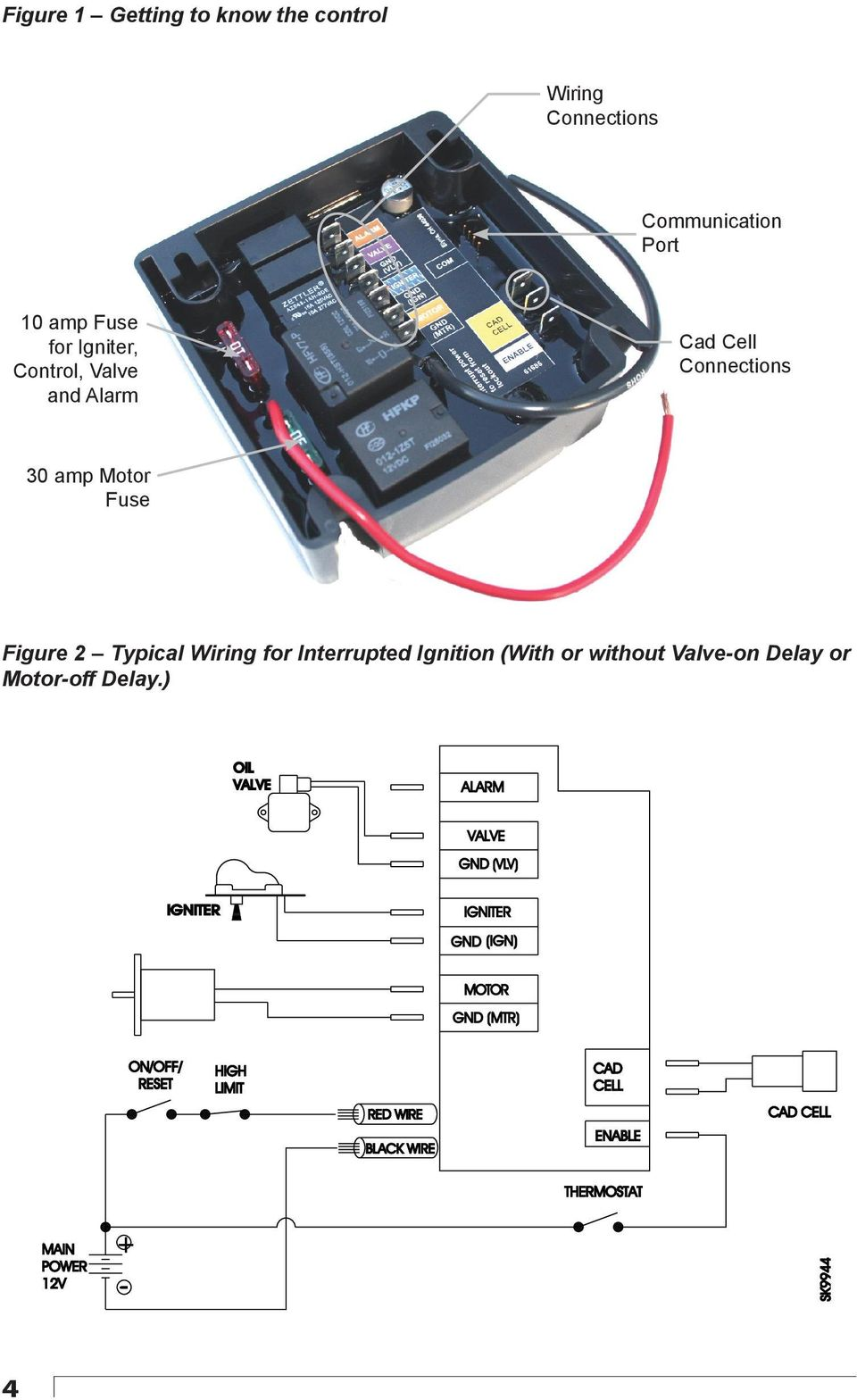 Genisys 12v Model Description Applications Advanced 12 Vdc Circuit And Wiring Diagram For Dual Fire Capacitor Discharge Ignition Cdi System From Ems Without Valve On Delay Or Motor Off