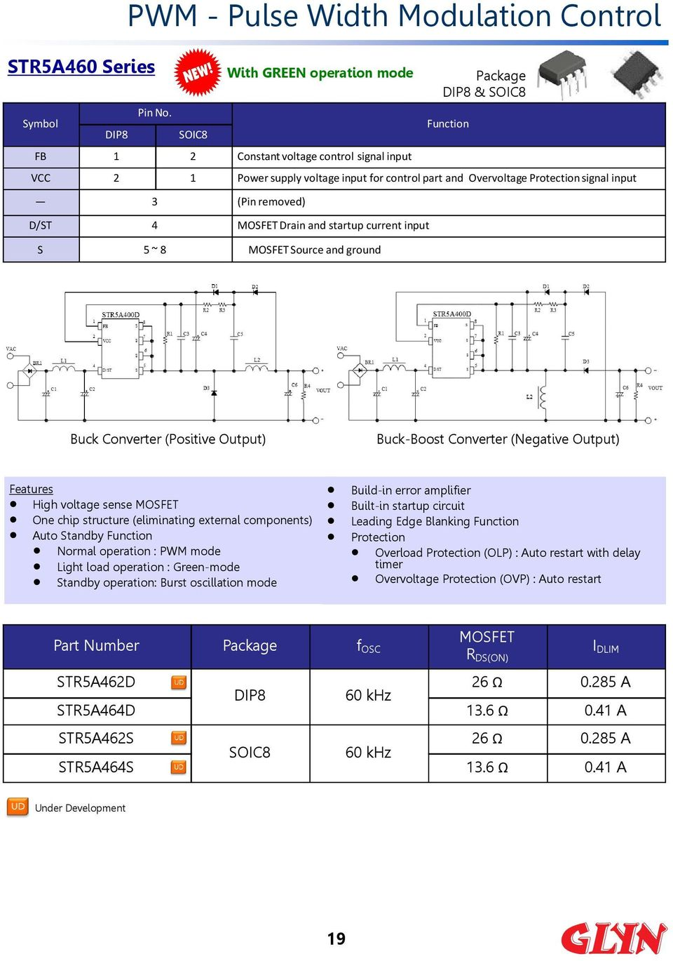 AC/DC Power Management Devices Product Guide  AC/DC Control