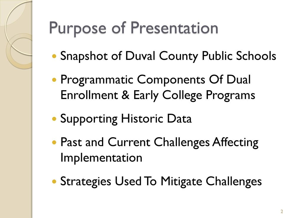Dual Enrollment Early College Duval County Public Schools