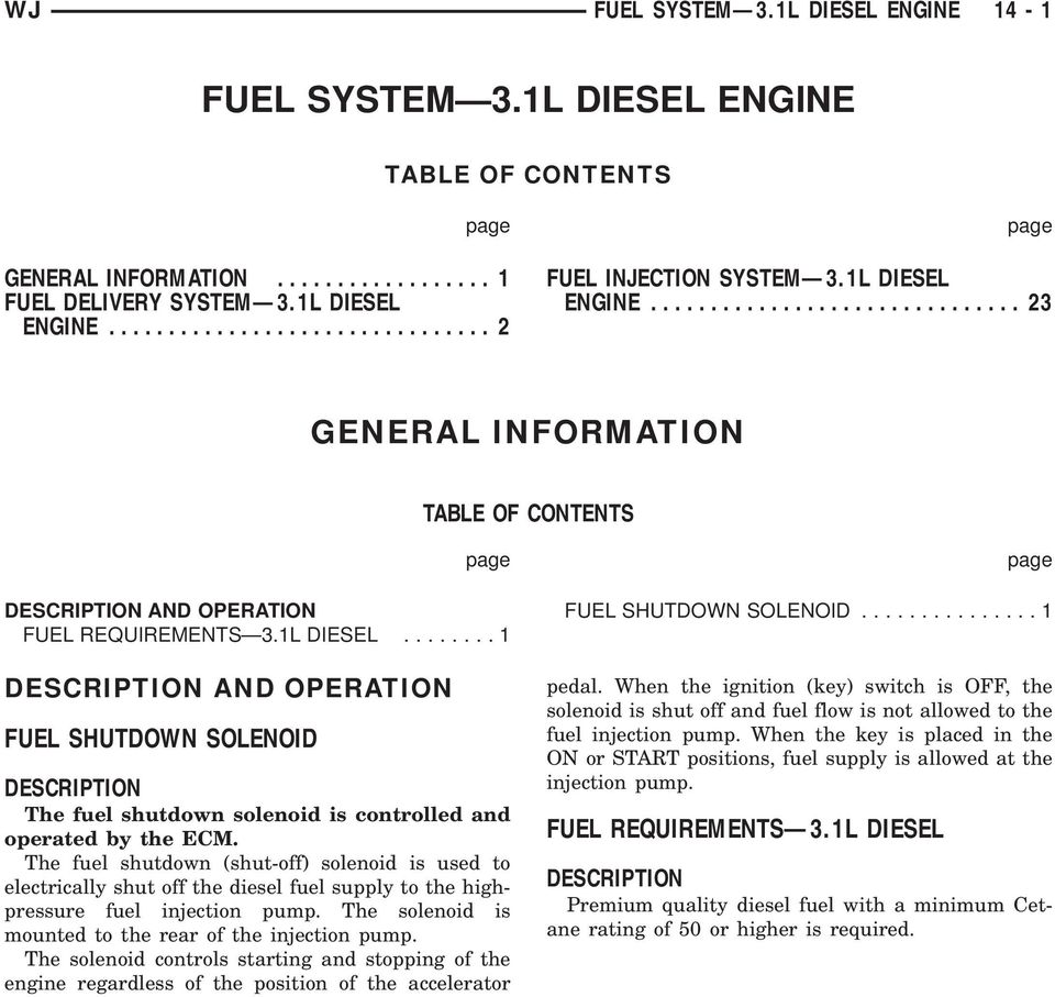 fuel system 3 1l diesel engine pdf rh docplayer net