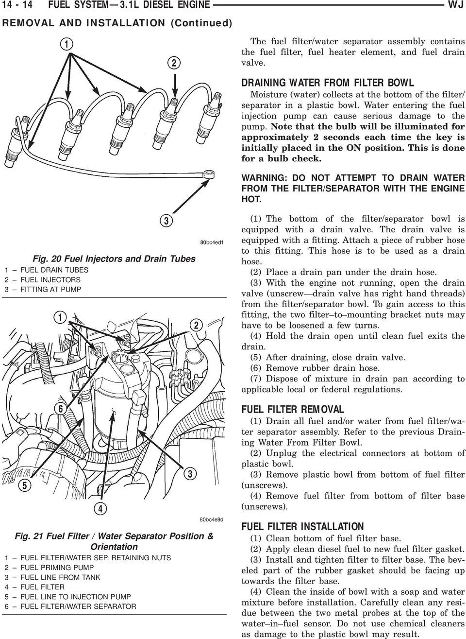 FUEL SYSTEM 3.1L SEL ENGINE - PDF on 7.3 fuel bowl adapter, 7.3 fuel bowl rebuild kit, 7.3 fuel bowl diagram, 7.3 fuel bowl sensor,
