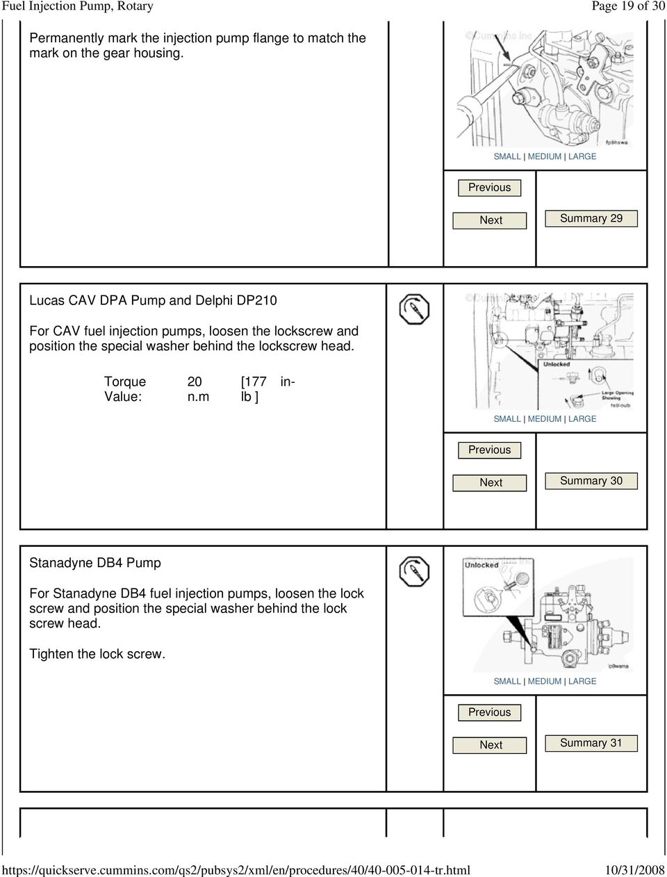 Fuel Injection Pump, Rotary ( ) - PDF