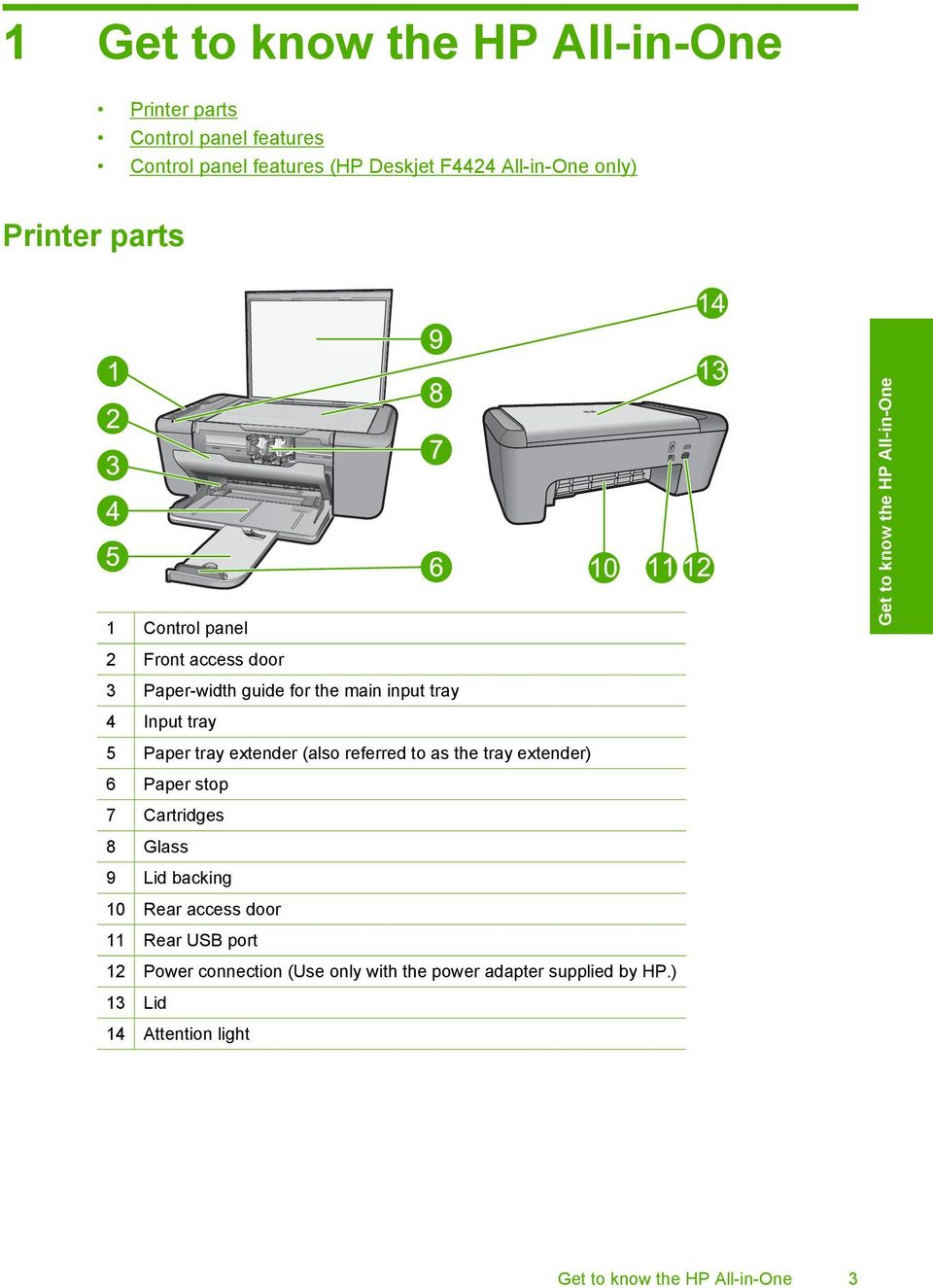 HP Deskjet F4400 All-in-One series  Windows Help - PDF