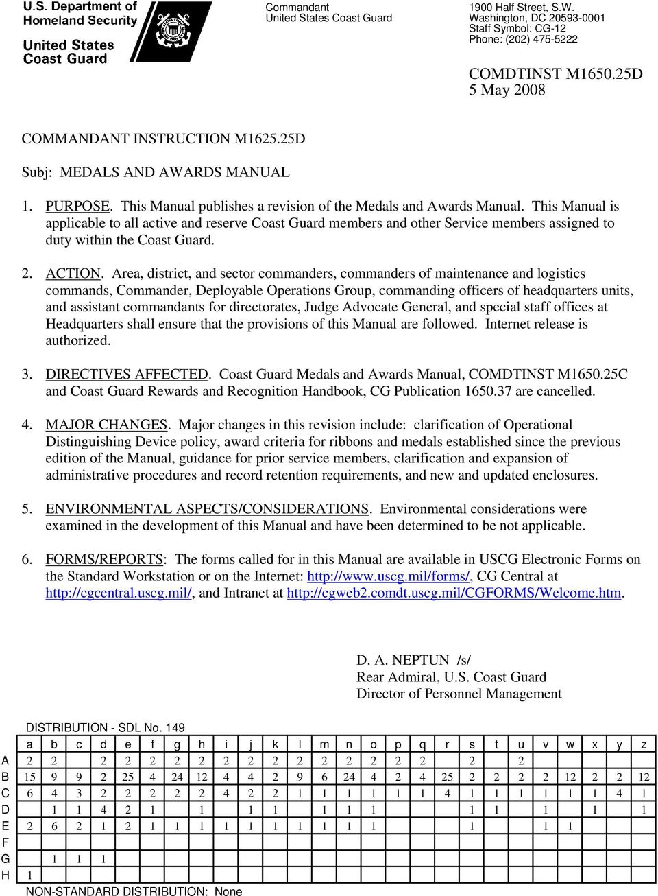 Medals and Awards Manual - PDF
