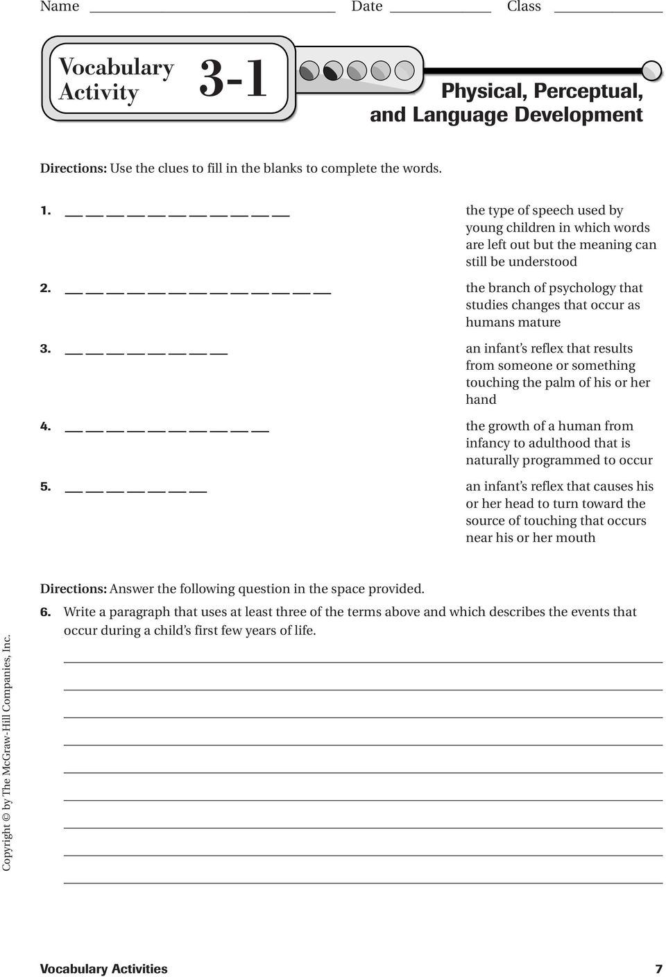 guided reading activity 5-1 adulthood answer key