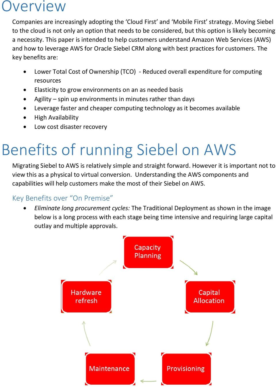Best Practices for Siebel on AWS - PDF