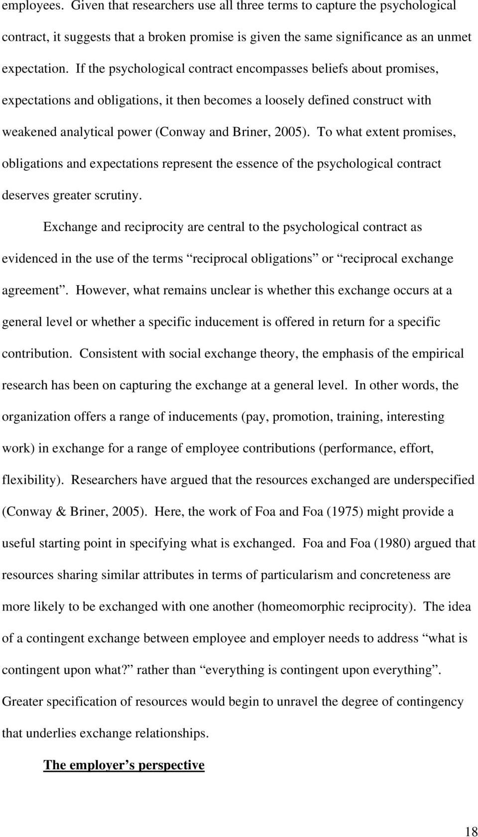 Jacqueline Coyle Shapiro Psychological Contracts Book Section Pdf
