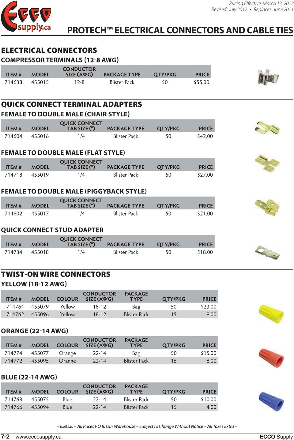 Intermixing of electrical wire size wire center protech electrical connectors and cable ties pdf rh docplayer net wire size amp rating wire cable sizes greentooth Images