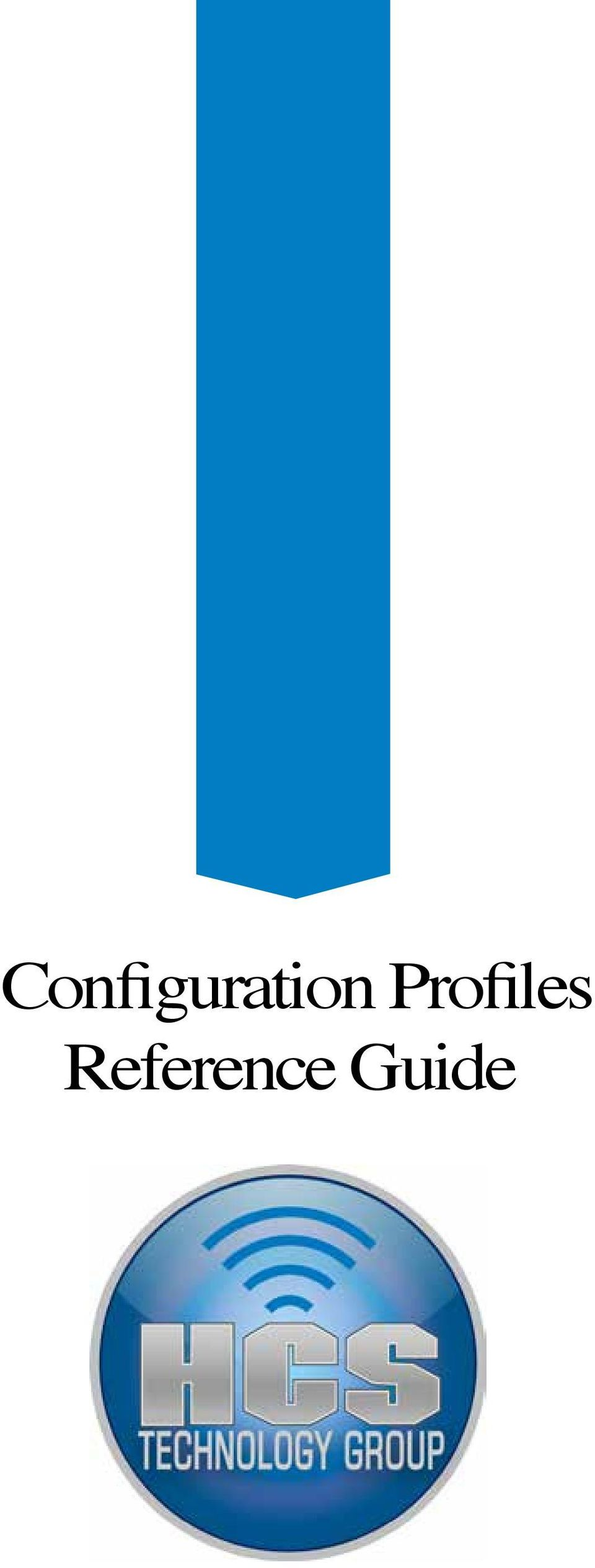 configuration profile reference