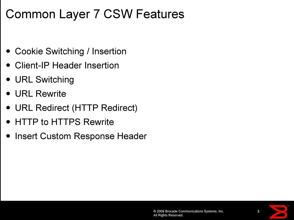 Introduction to ServerIron ADX Application Switching and
