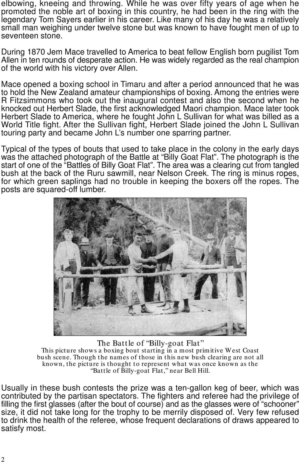 The Story So Far 100 Years of Boxing New Zealand - PDF