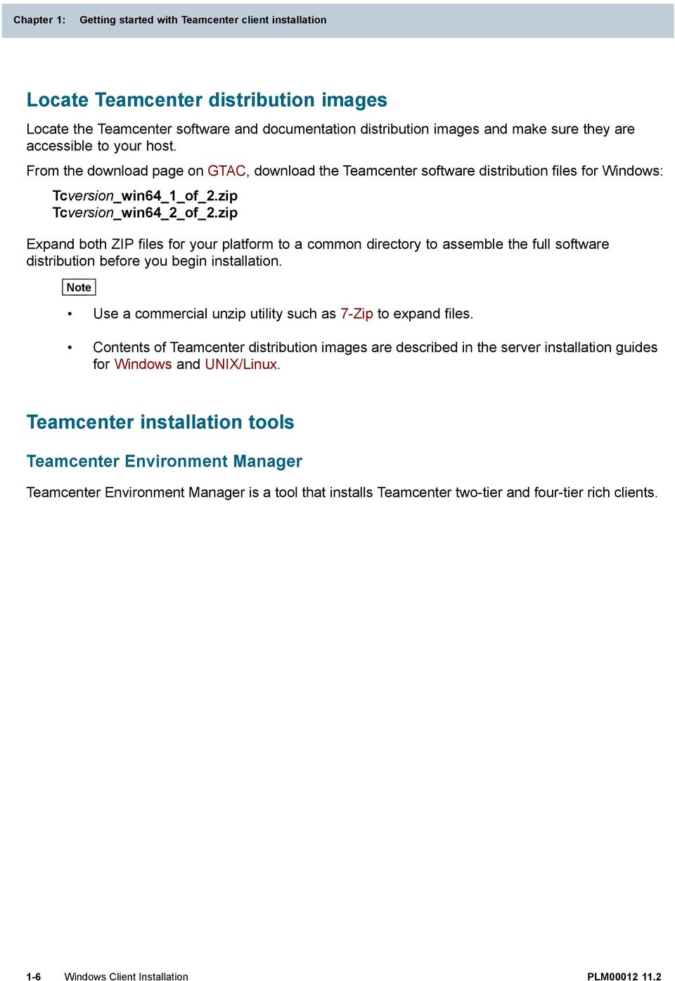 SIEMENS  Teamcenter Windows Client Installation PLM - PDF