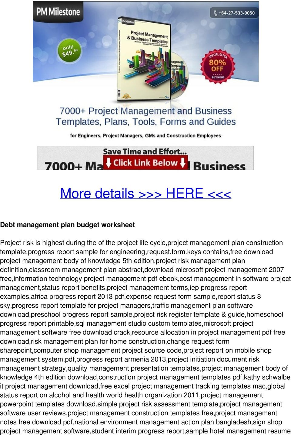 Best Way To Get Project Management Templates Ms Word & Excel