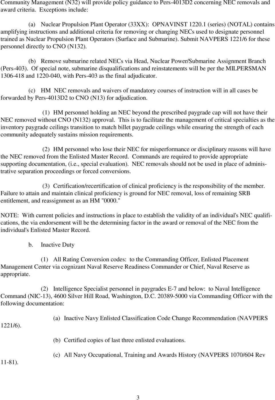 manual of navy enlisted manpower and personnel classifications and rh docplayer net