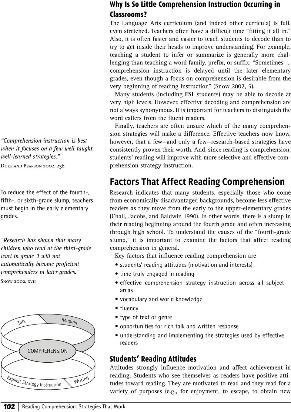 Chapter 2 Reading Comprehension Strategies That Work Pdf