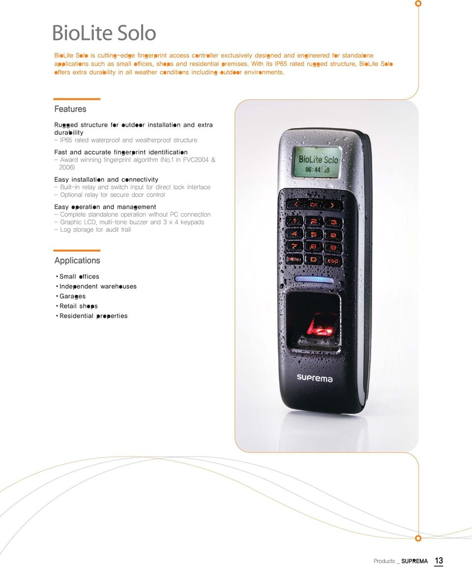 With Suprema The Technology Becomes Your Success Pdf Box Switch On Furthermore Emka Keys In Addition Circuit Breaker Features Rugged Structure For Outdoor Installation And Extra Durability Ip65 Rated Waterproof Weatherproof
