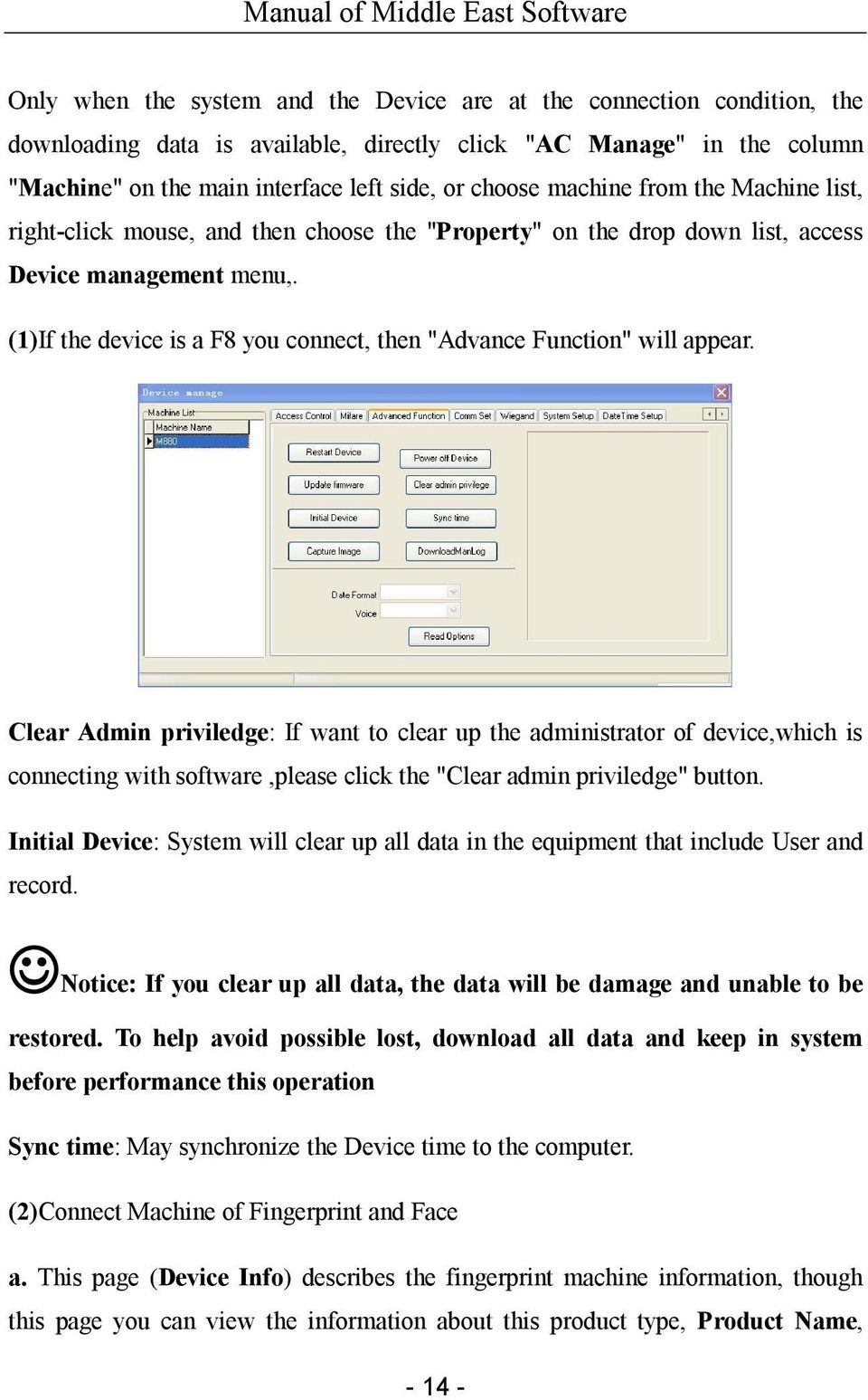 Middle East Software User Manual - PDF