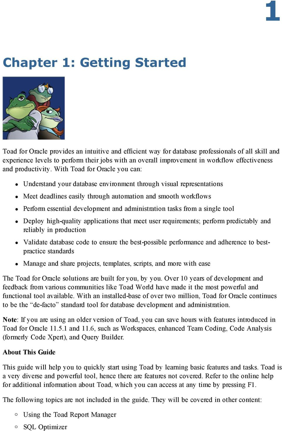 Toad for Oracle Guide to Using Toad - PDF