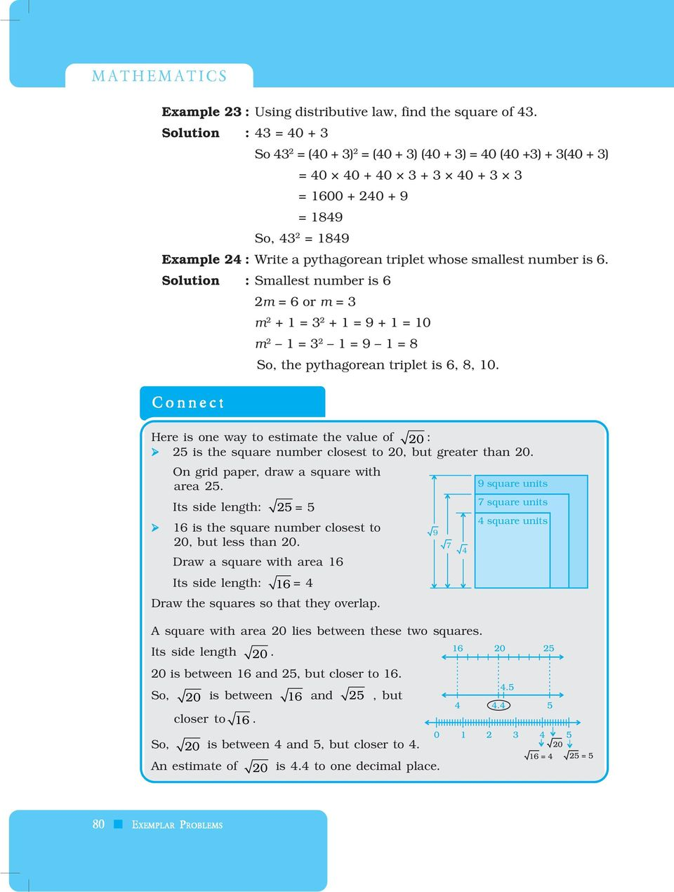 Square square root and cube cube root pdf whose smallest number is 6 solution smallest number is 6 2m 6 or fandeluxe Gallery