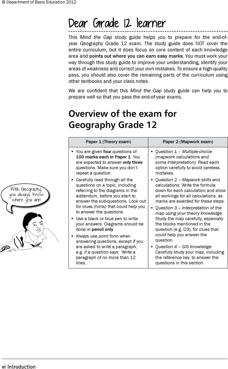 Geography Study Guide  Grade - PDF