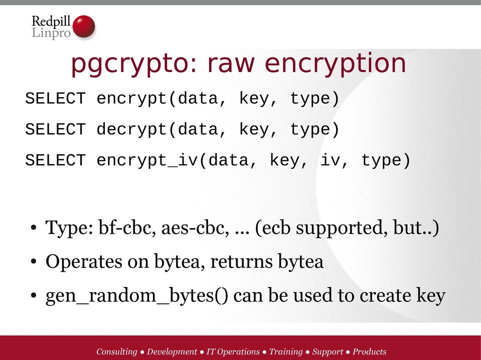 Encrypted PostgreSQL - PDF