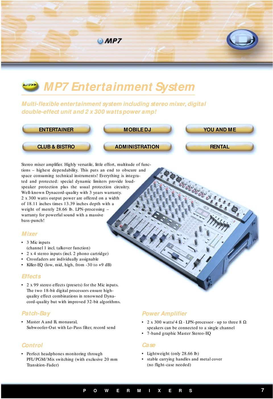 Dynacord History Pdf Loudspeaker Protection And Muting This Puts An End To Obscure Space Consuming Technical Instruments