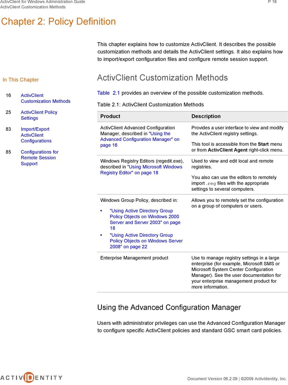 Administration guide activclient for windows pdf free download.