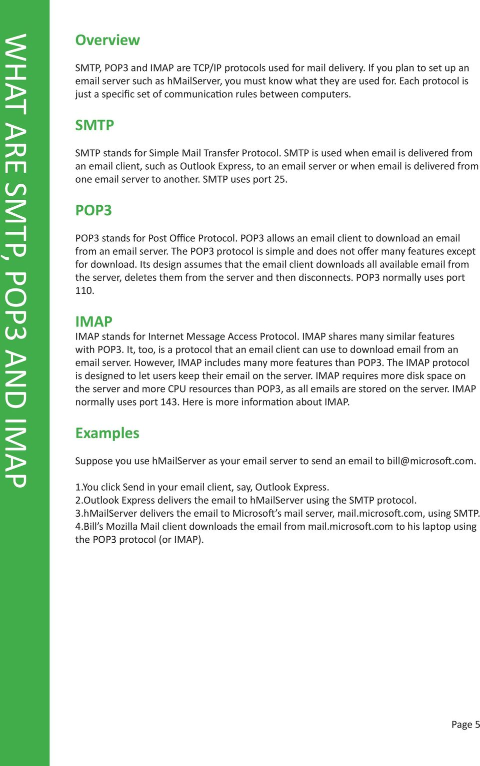 hmail Server User Guide Version 5 2 Revision 1 - PDF
