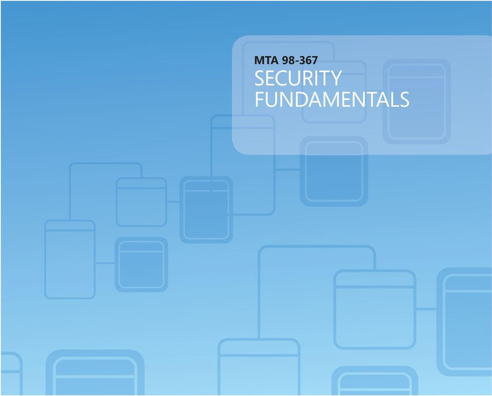 Mta Security Fundamentals Pdf