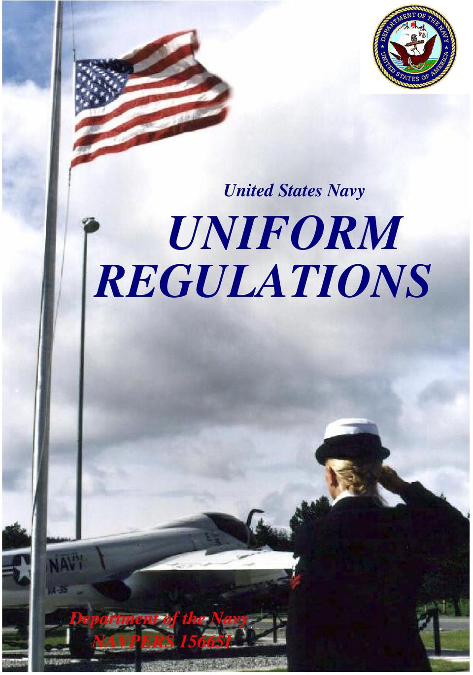 United States Navy UNIFORM REGULATIONS  Department of the