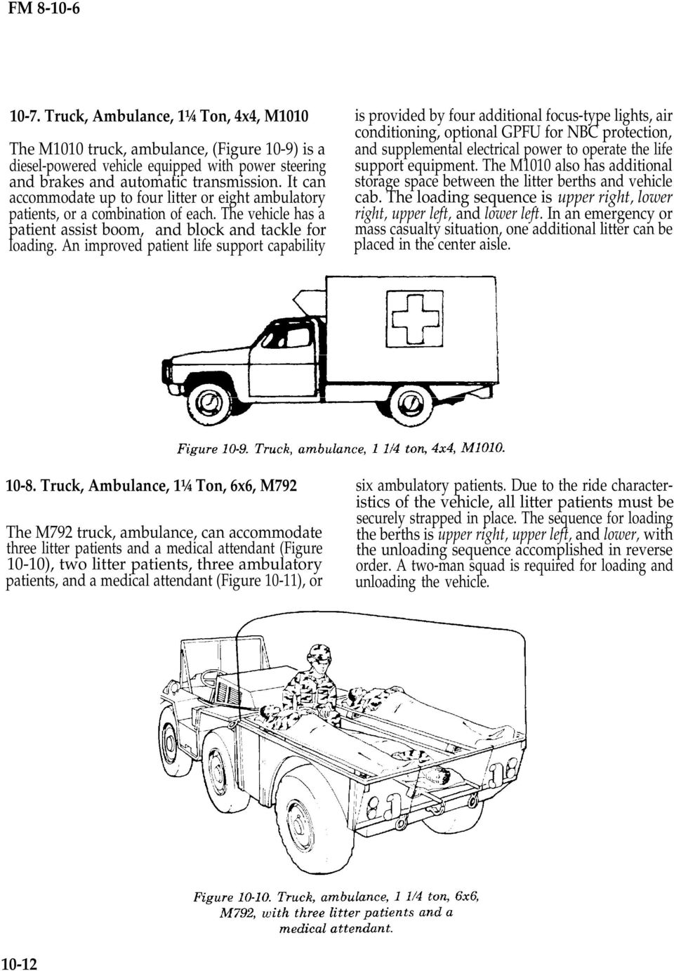 M1010 Ambulance Wiring Diagram Lifted Cucv Hummer Diagrams For Ford Evacuation Platforms Section I Army Ground Ambulances Pdf On