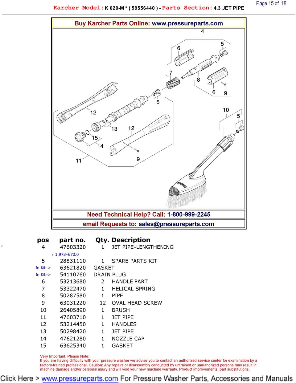 Buy Karcher Parts Online Need Technical Help Call Requests To Pdf Drainage Pump Sp 3 Dirt 0 5 28831110 1 Spare Kit In 63621820 Gasket