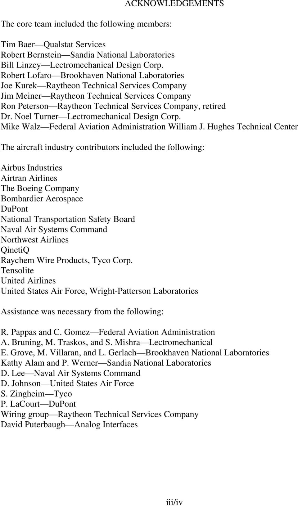 Aircraft Wiring Degradation Study Pdf Raytheon Harness Dr Noel Turner Lectromechanical Design Corp Mike Walz Federal Aviation Administration William J