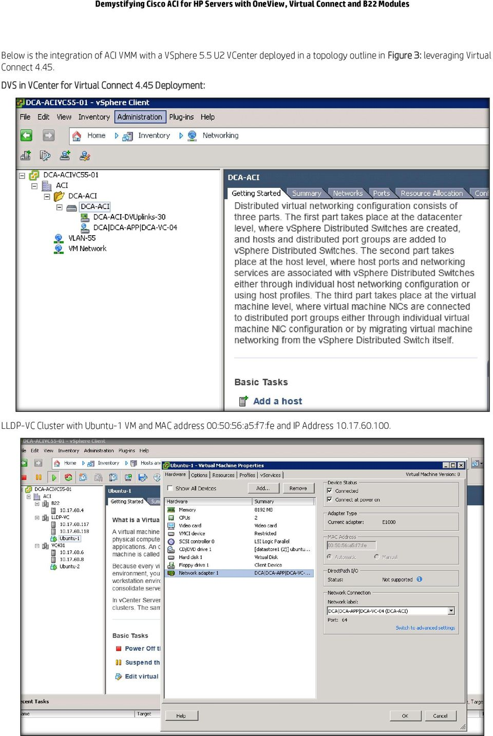 Demystifying Cisco ACI for HP Servers with OneView, Virtual